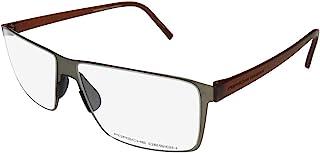 Porsche Design 男式眼镜框 - P8308 B - 灰色 (57/14/145)