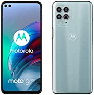 Motorola 摩托罗拉 moto g100 (6.7 英寸 - 显示屏,64 MP 摄像头,8/128 GB,5000 mAh,Android 11) Magic 白色,包括对接站 + 电视新优惠券 [亚马逊*]