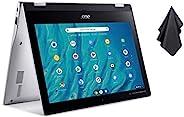 2021 *新宏碁 Chromebook Spin 311 可转换笔记本电脑,MediaTek 8 核处理器,11.6 英寸高清触摸,4GB LPDDR4,32GB eMMC,千兆 Wi-Fi 5,蓝牙 5.0,Goog