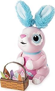 Zoomer 饥饿的兔子Shreddy,互动式能吃东西的机器人兔子,适合5岁+