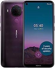 Nokia 诺基亚 5.4 6.39 英寸 Android UK SIM 免费智能手机,带 4 GB RAM 和 64 GB 存储(双 SIM) - 黄昏