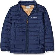 Columbia 男孩棉布精簡保暖夾克