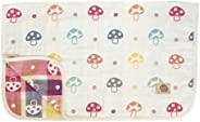 Hoppetta 10mois 6层透气纱布儿童睡衣睡袋 棉质100% M码(约90×110cm)蘑菇图案 5235