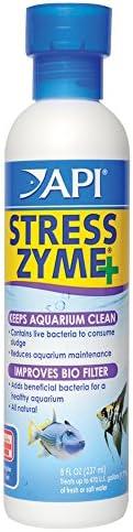 API STRESS ZYME 淡水和海水族箱清洁液 8 盎司