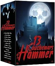 Hammer Nightmares 系列 - 13 盘盒套装(吸血鬼之吻/夜生物/歌剧幽灵的幻想/弗兰肯斯坦的邪恶/《魔》 t 的诅咒》 [蓝光,Reg.A/B/C 进口 - 法国]