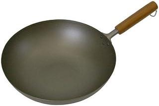 长谷元 纯钛 木柄煎锅 30厘米 主体:钛 锅柄:木 日本 AIT1230