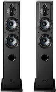 Sony 索尼 SS-CS3 3 路 4 驱动 落地扬声器 - 一对(黑色)