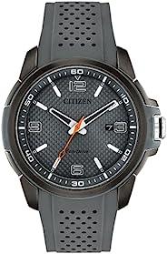 Citizen 西铁城 男式模拟光动能手表聚氨酯表带 AW1159-02H