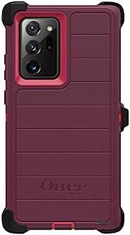 OtterBox Defender Screenless 系列坚固耐用的手机壳和皮带夹皮套适用于 Galaxy NOTE 20 Ultra 5G(仅限)零售包装 - Berry Potion