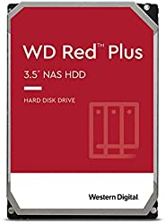 "Western Digital 西部数据 3TB WD Red Plus NAS 内置硬盘 HDD - 5400 RPM,SATA 6 Gb/s,CMR,128 MB缓存,3.5"" -WD3"