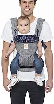 Ergobaby 360 幼儿背带,4 位人体工学婴儿背带和背包,星空灰