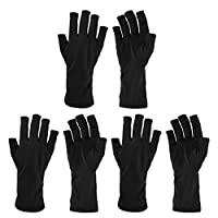 Beautyflier 3 双 UV 防护护套手套,适用于 LED *干燥器凝胶固化*油凝胶美甲