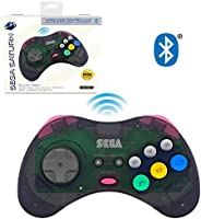 retro-bit SEGA Saturn® 8-Button Arcade Pad Bluetooth State Grey 复古刀 SEGA Saturn® 8 键 档垫 蓝牙 控制器 灰色