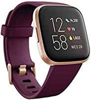 Fitbit Versa 2 智能运动手表 心率监测 睡眠监测 游泳防水