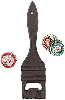 Design Toscano QH17814 镇红色油漆刷开瓶器,6.5 英寸,黑色