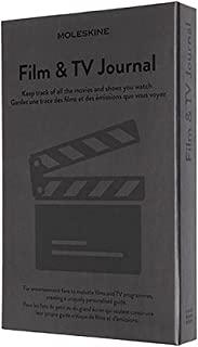 Moleskine 电影和电视杂志,电影和电视剧爱好者笔记本,电影评论笔记本,电影评论笔记本,介绍电影历史,硬封面,灰色,400 页