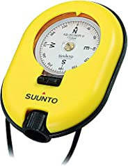 Suunto® 20/360R 指南针 – 黄色 – 均码 – 漂浮手动轻质专业镜像指南针