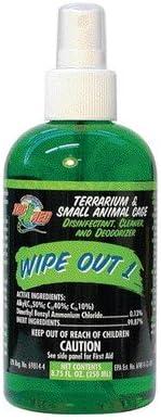 Zoo Med Wipe Out 1 - 小型动物和爬行动物玻璃容器清洁剂 4.2 盎司(约 120.5 克) - 3 件装