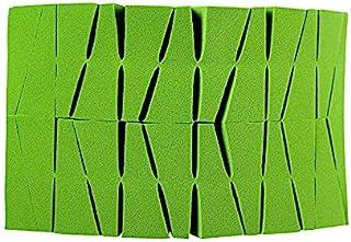 Linbloom 24 件套*海绵搅拌器用于面部污迹、液体霜粉末、万圣节化妆舞会和其他场合三角一次性*海绵 - *