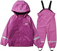 Helly Hansen 儿童山羊毛 PU 雨衣夹克,粉色,7