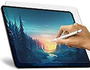 Paperlike iPad Pro 11 屏幕保护膜 2018/2020,哑光 PET 膜用于绘图高触摸灵敏度防眩光防刮膜和纸张纹理,与苹果铅笔和面部 ID 兼容 1包