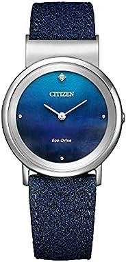 Citizen 手表 CITIZEN L 光动能 Ambiluna Collection EG7098-15L 女士 蓝色