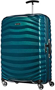 Samsonite 新秀丽 Lite-Shock手提行李,PETROL BLUE,75 cm