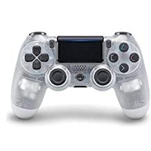 PS4 游戲手柄,適用于 Playstation 4 DualShock 無線控制器 - 水晶