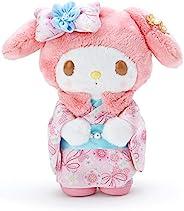 My Melody 樱花和服毛绒玩具