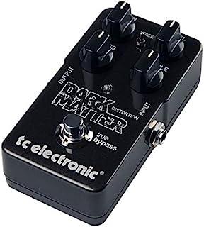 TC Electronic 模拟解码踏板 吉他效果器 模拟电路设计 广泛增益 主动式EQ 转换低音微妙声音 VOICE开关 简单的操作 True Bypas DARK MATTER DISTORTION