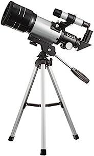 MIZAR 天文望远镜 折射式 70 毫米口径 小巧型 经纬台 三脚架 套装 TS-70