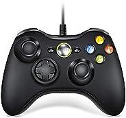 Xbox 360 控制器,VOYEE 设计有线控制器手柄 Microsoft Xbox 360 & Slim/Window