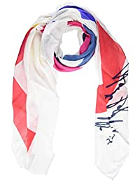 Karl Lagerfeld Paris 女式印花方巾