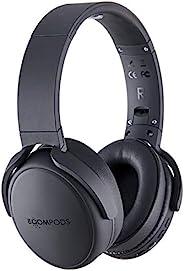 BOOMPODS HEADPODS PRO 集成均衡器设置 - 耳机贴耳式舒适耳垫,12 小时电池,深低音,无线