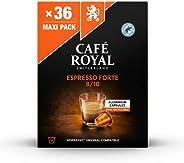 Café Royal Espresso Forte Nespresso 兼容铝制咖啡包,0.187 千克