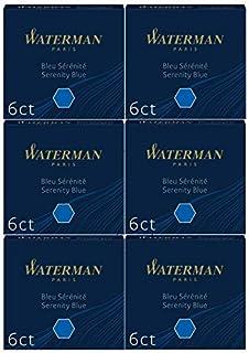 Waterman 威迪文墨盒,标准长款
