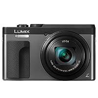 Panasonic 松下电器 LUMIX DC-ZS70S 20.3百万像素,4K数码相机,带触摸功能,3英寸(约7.62厘米),180度翻盖前显示屏,30X LEICA DC VARIO-ELMAR镜头,WiFi(银色)