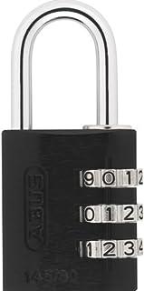 ABUS 145/30 铝制黑色密码锁