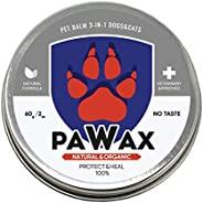 Bruno May 狗爪蜡(2 盎司):宠物爪子保护免受热、沙子、热路面、污垢、雪    保护、舒缓、修复   低*性   天然   非常适合徒步旅行或长途行走