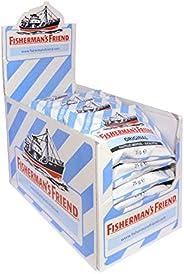 Fisherman's Friend 渔夫之宝 桉树味润喉糖 24小袋/盒 ,桉树薄荷口味,无糖,