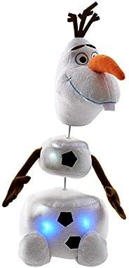 Disney《冰雪奇緣》拉扯奧拉夫毛絨玩具(亞馬遜*發售)