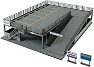 SANKEI 1/150 角落生物模型系列 停车场A 纸模型