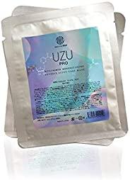 日本 UZU Pro 烟酰胺单核苷酸逆老化护理面膜,收缩毛孔舒缓修复舒缓抚平细纹和皱纹深层保湿滋养紧致面膜,1 包 5 件