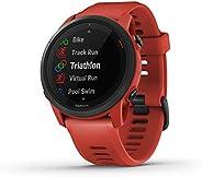 Garmin 佳明 Forerunner 745 GPS 跑步手表 详细训练统计数据和设备锻炼 基本智能手表功能 红色