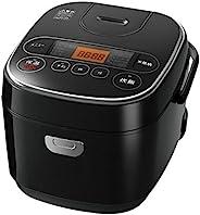 IRIS OHYAMA Smart Basic 电饭煲 微电脑式 5.5合(约1.0升) 超厚铜锅 带区分煮饭功能 黑色 需配变压器
