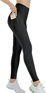 SRYLED 女式高腰瑜伽裤带口袋瑜伽打底裤,适合女性锻炼