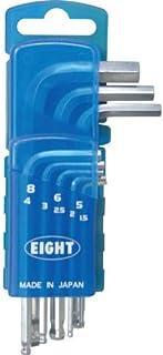 Eight 六角扳手 锥形头 标准尺寸 门座 套装TS-8D