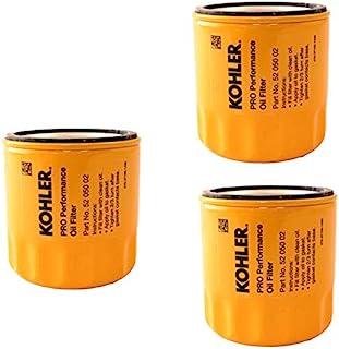 Kohler 科勒 52 050 02-S 发动机机油滤清器额外容量适用于 CH11 - CH15, CV11 - CV22, M18 - M20, MV16 - MV20 和 K582(包