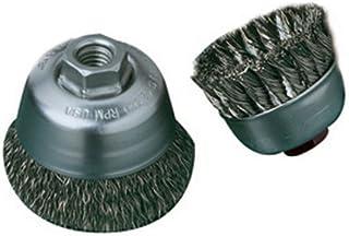 "United Abrasives- SAIT 06416 2-3/4"" x 0.014 x M10 x 1.25 碳研磨机风格角质研磨机小型杯刷"