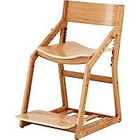 市场(Marche) 学习椅 自然 45x54~63.5x77厘米 座面高度38~53.5厘米 Iight JUC-3172NA
